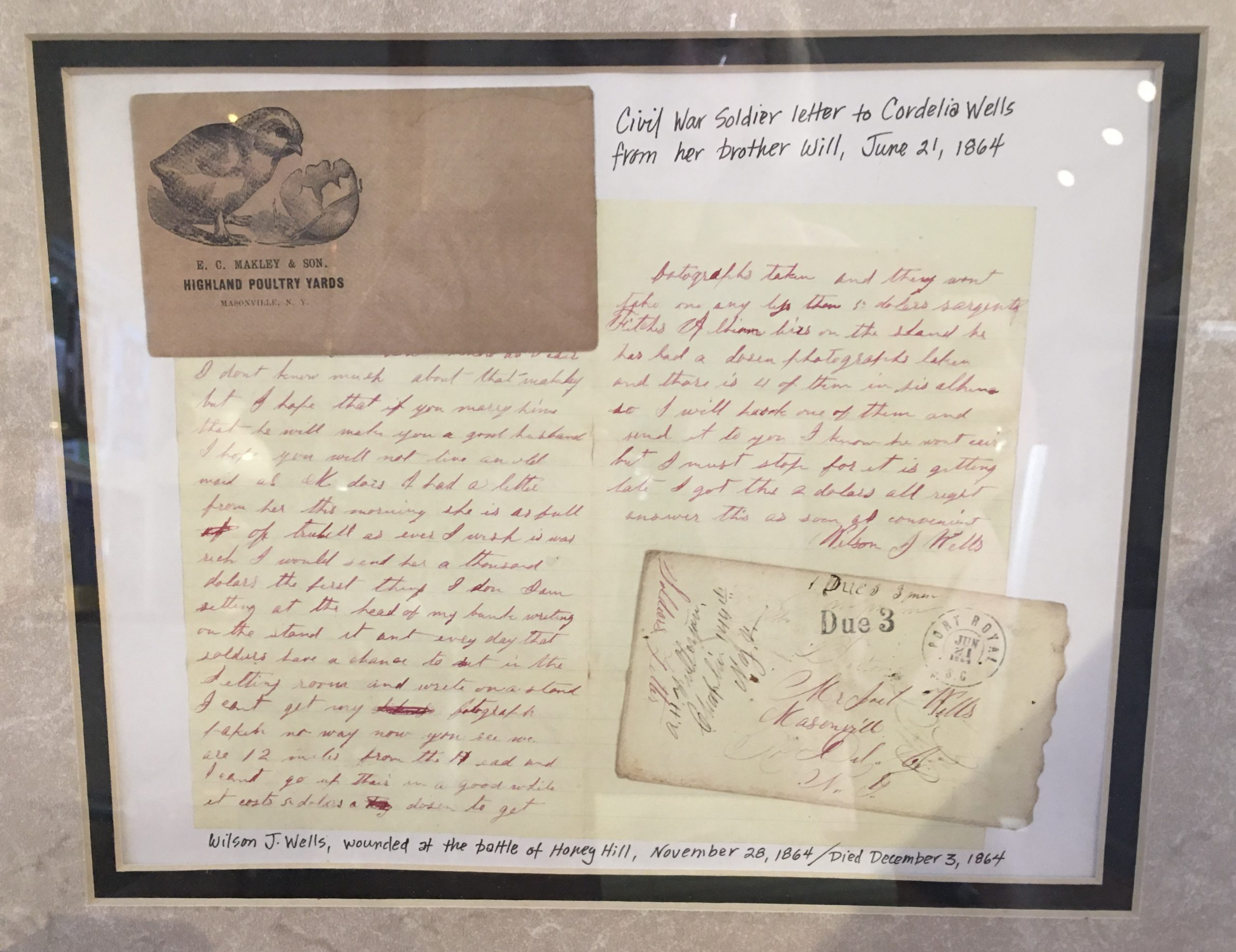 Civil War Letter